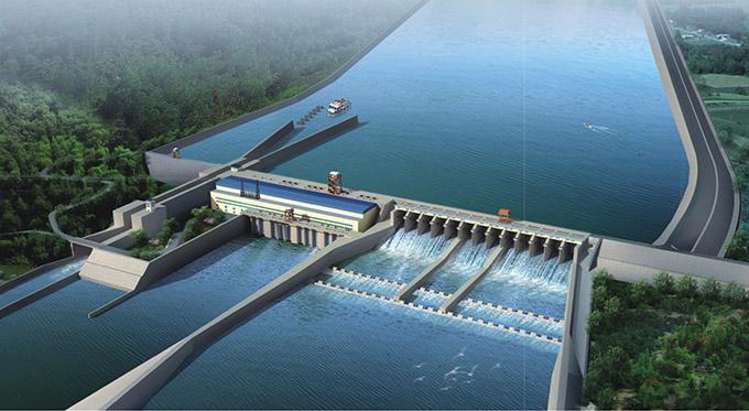 大渡河沙湾水电站枢纽工程